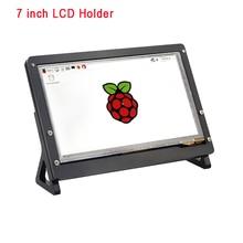 Raspberry Pi 3 акрил Поддержка держатель акриловый чехол только для 7 дюймов Экран дисплея Бесплатная доставка