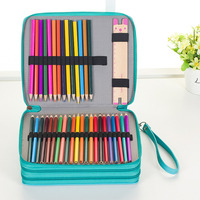 120 Crayon Curtain Sketch More Function Painting Student Pencil Bag Pencil Case Suit Goods In Stock WJ HD23