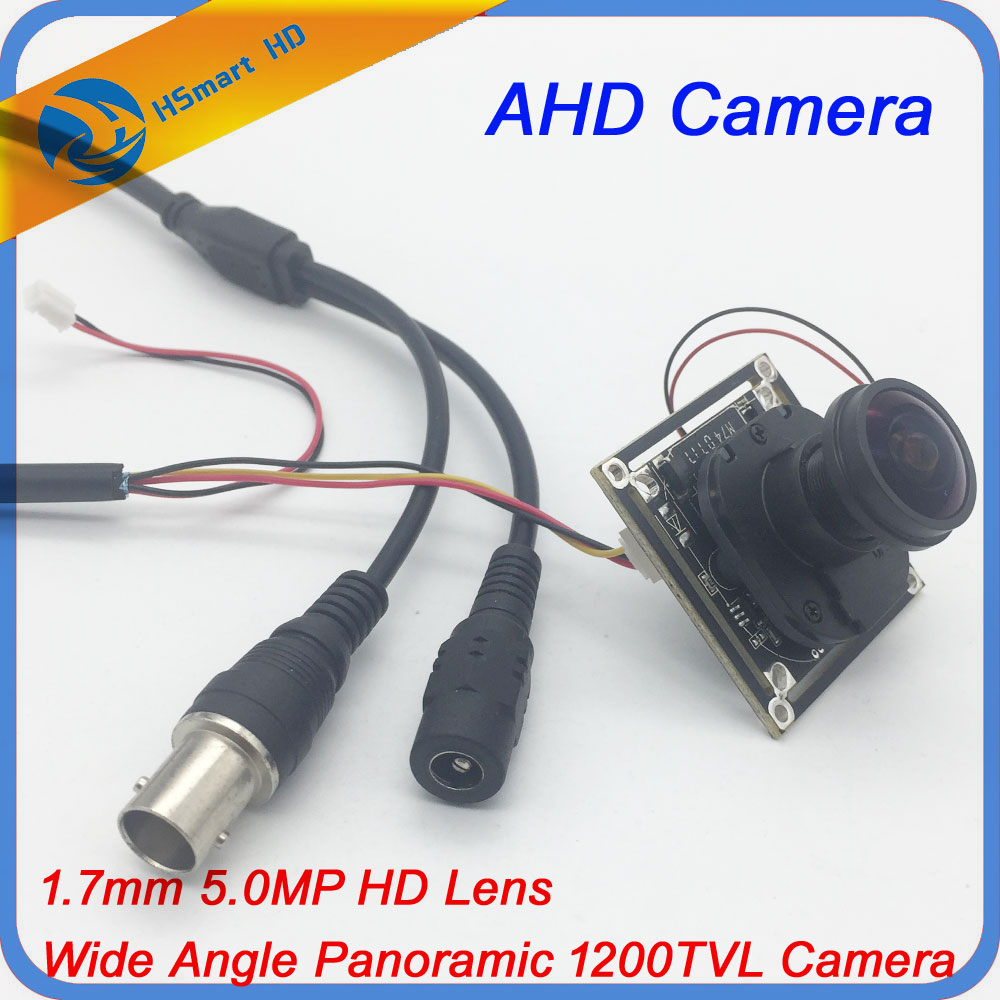 5Megapixel 1.7mm Fisheye Lens AHD 1200TVL HD CCTV COMS IR-CUT Camera M12 Mount 1/2.5 F2.0 Wide Angle Panoramic PCB CAMERAS аккумулятор forse efb 6 ст 60 vl lb п п
