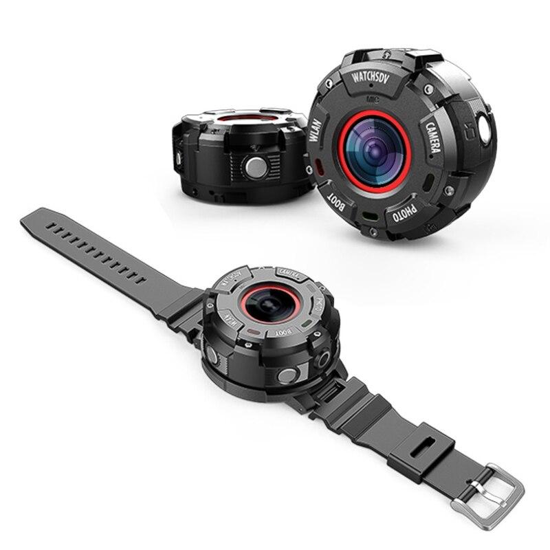 Caméra de sport de plein air professionnelle Full HD 1080 p étanche DVR Portable Action caméscope sans fil Micro montre caméra Wifi