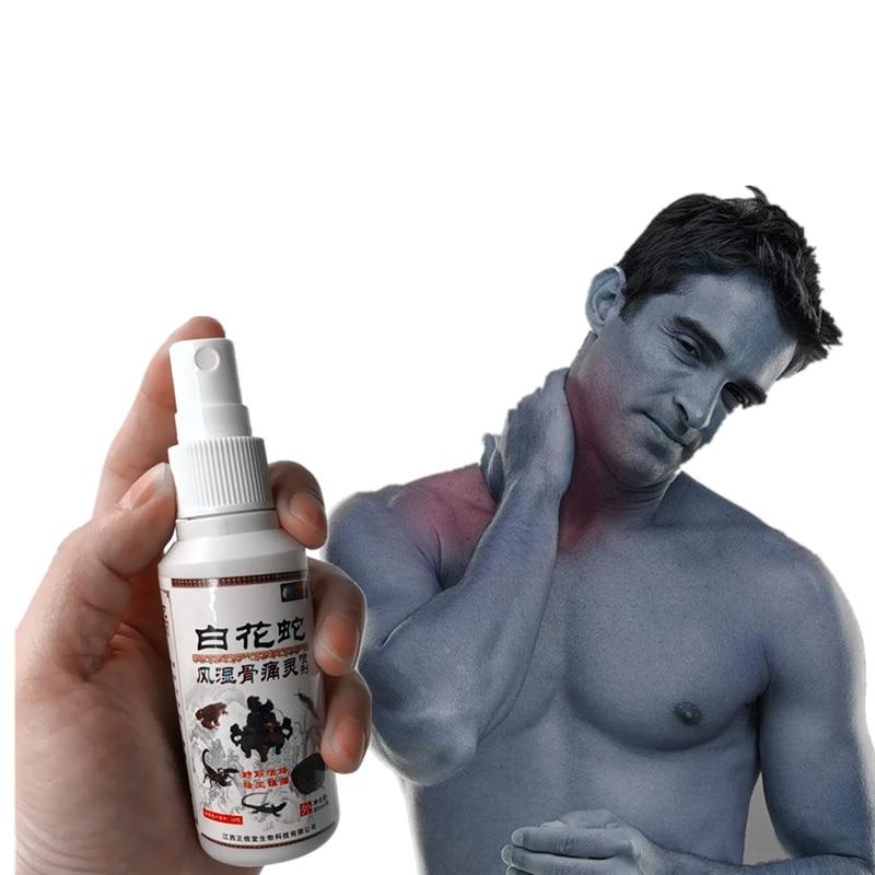 Legs Ached Analgesic Heating Essential Oils Warm Feeling Rheumatism Arthritis Migraine Frozen Shoulder Chinese Medicine Spray in Essential Oil from Beauty Health