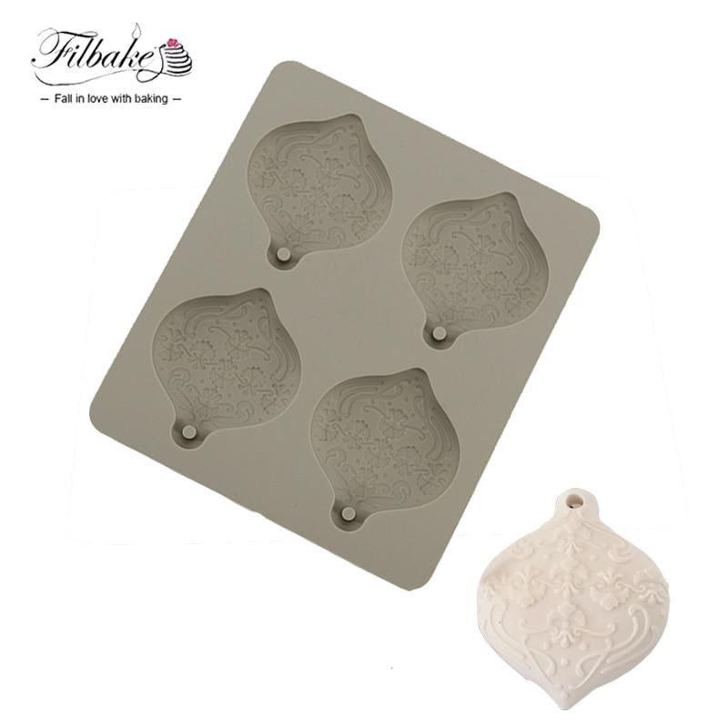 FILBAKE DIY 4 Cavity Mini Flower Ball Aromatherapy Plaster Crystal Epoxy Silicone Mold Home Decor Of Aromatherapy Mold