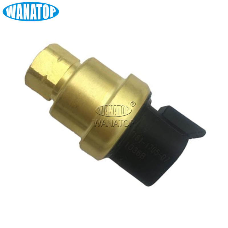 Automobiles Sensors Reasonable New Pressure Sensor 161-1705 1611705 For Caterpillar Ap-1000d Ap-1055d Mt735 Mt745