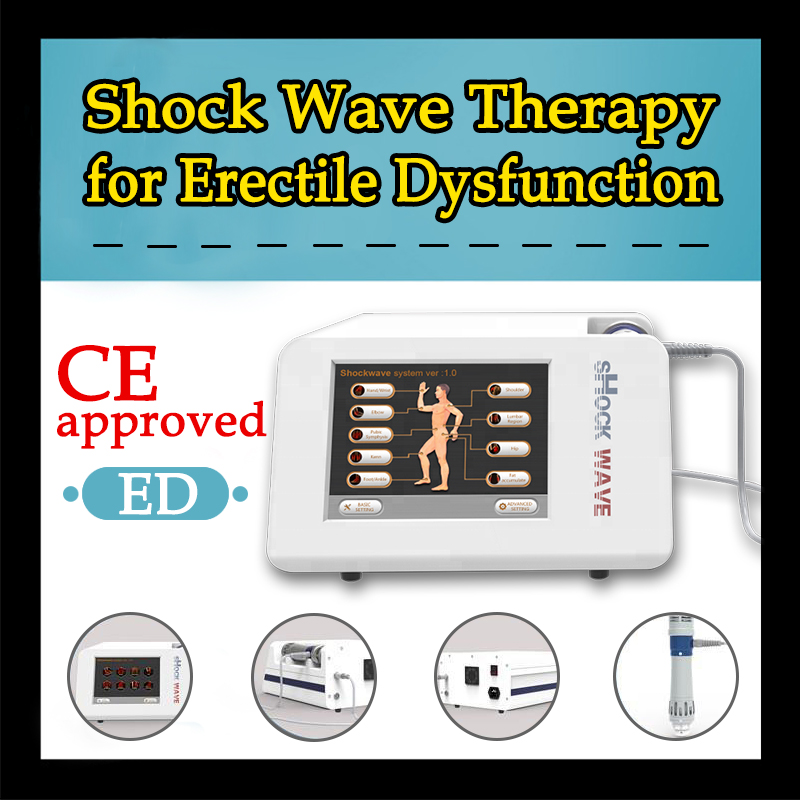 Popular Shock Wave Machine Electromagnetic Shockwave Shoulder Pain Relief Shock Wave Therapy Equipment Machine