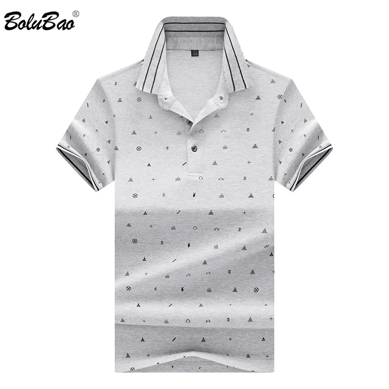 BOLUBAO Fashion Brand Men's   Polo   Shirt 2019 Autumn Male   Polo   Shirt Short Sleeve Printing   Polo   Shirt Top