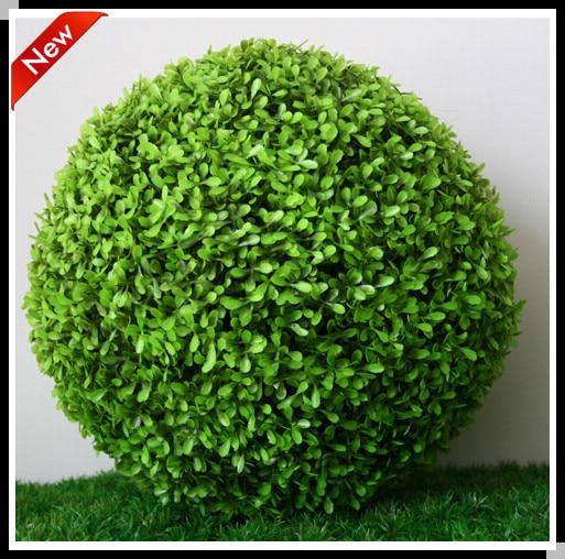 40 40cm Big Grass Ball Round Artificial Plants Decorative Round Best Decorative Grass Balls