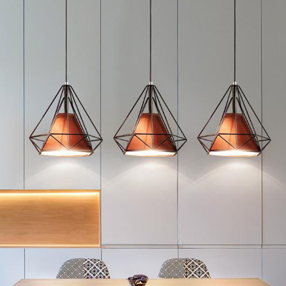 LED pendant light Nordic Europe retro style dinning lamp dinning room living room toggery clothing shop bar counter 1 Heads 45CM