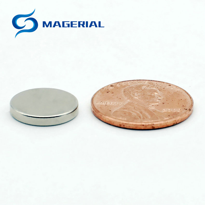 "50pcs 10mm x 1mm 3//8/"" x 1//32/"" N52 Strong Disc Rare Earth Neodymium thin Magnet"