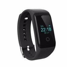 Good Wristband V16 Bluetooth Good Band Health Sports activities Tracker Bracelet with Steady Coronary heart Price Monitor