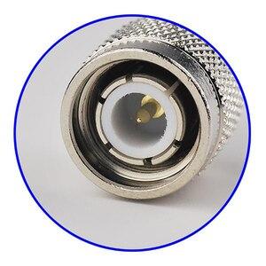 Image 4 - Conector coaxial masculino do rf da tomada do friso de superbat 10 pces tnc para o cabo coaxial rg8 rg213, rg214, lmr400