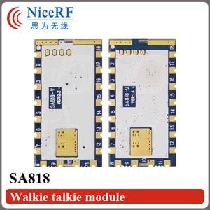 Image 2 - 2 ピース/ロット SA818 新世代 RDA1846S チップ VHF 134 〜 174 MHz/UHF 400 480 MHz 1 ワット 30dBm アナログトランシーバーモジュール