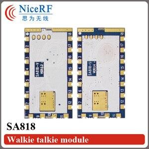 Image 2 - 2 adet/grup SA818 Yeni Nesil RDA1846S Çip VHF 134 ~ 174 MHz/UHF 400 480 MHz 1 W 30dBm Analog Walkie Talkie Modülü