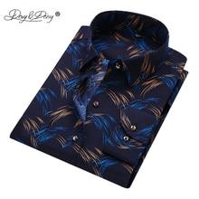 DAVYDAISY 2018 High Quality Men's Shirt Long Sleeve Print Shirt Men Casual Shirts Brand Camisa Social Masculina 16 Colors DS-238