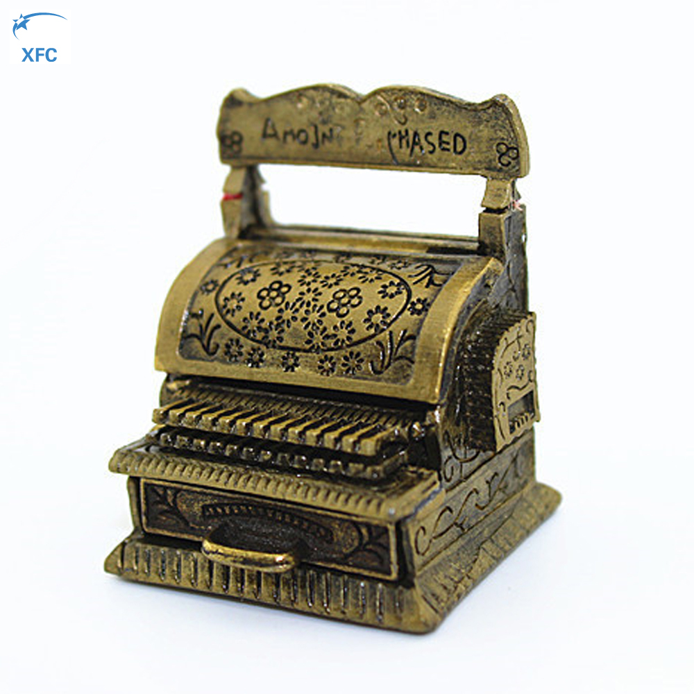 Miniature Metal Cash Register Decoration Part Accessory For 1/10 RC Rock Crawler Car Axi ...
