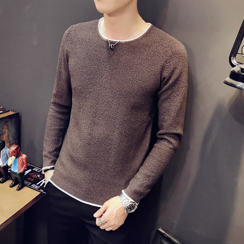 2018 Male sweaters men best style O neck mens sweaters pullover jersey for man autumn winter 2XL knitwear dress