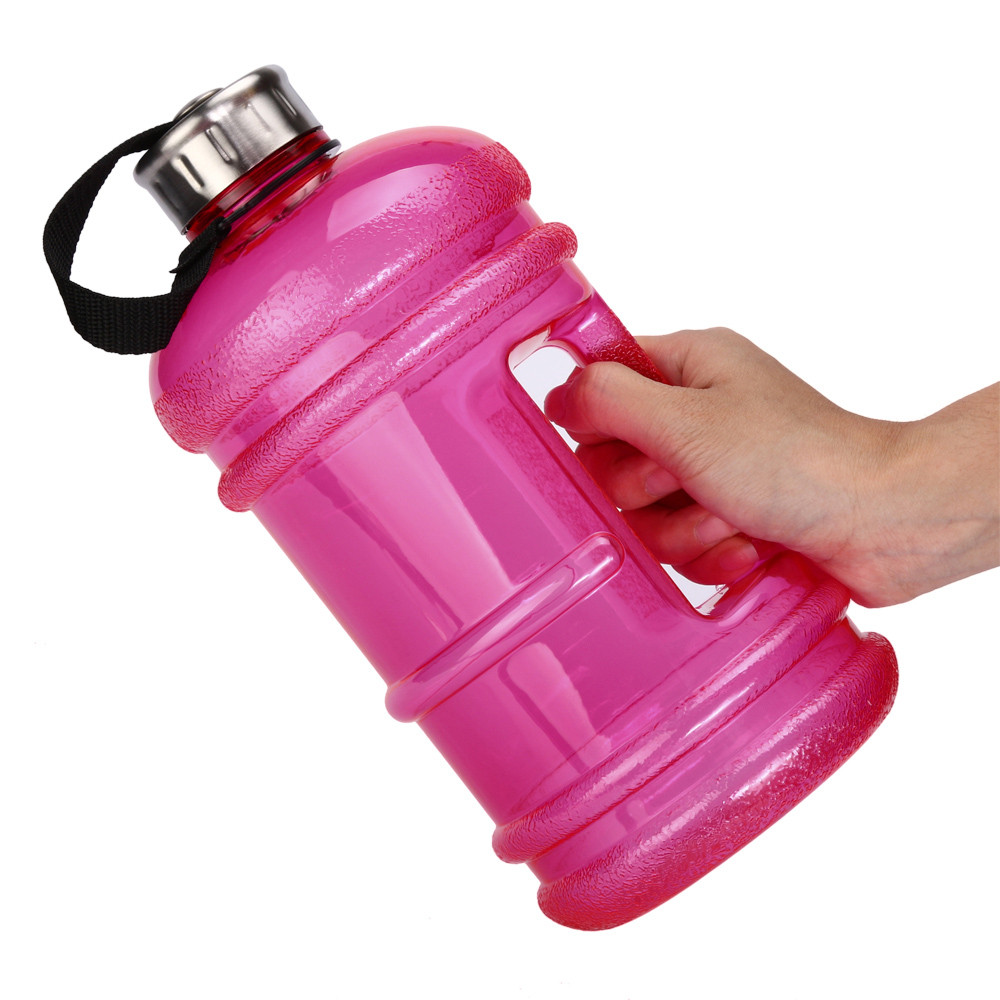 2.2L Big Large BPA Free Sport Gym Training Water Bottle Cap Kettle Workout free shipping #2A19 #F