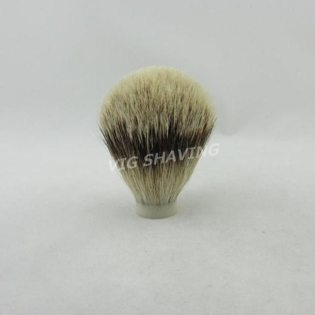 19/65mm  Silvertip badger hair DIY Brush Knot for  Handmade Shaving Brush