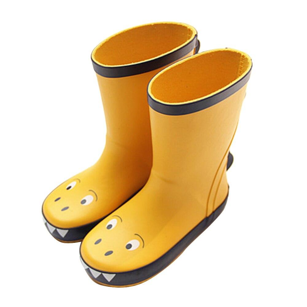 Dinosaur Cartoon Rain Boots Children's Rain Boots Waterproof Non-slip Shoes