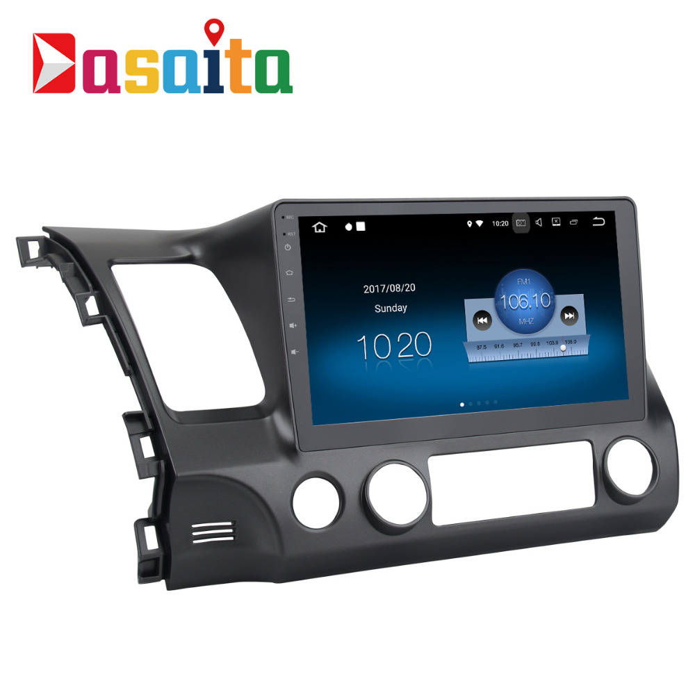"Dasaita 10.2"" Android 7.1 Car GPS Player Navi for Honda ..."