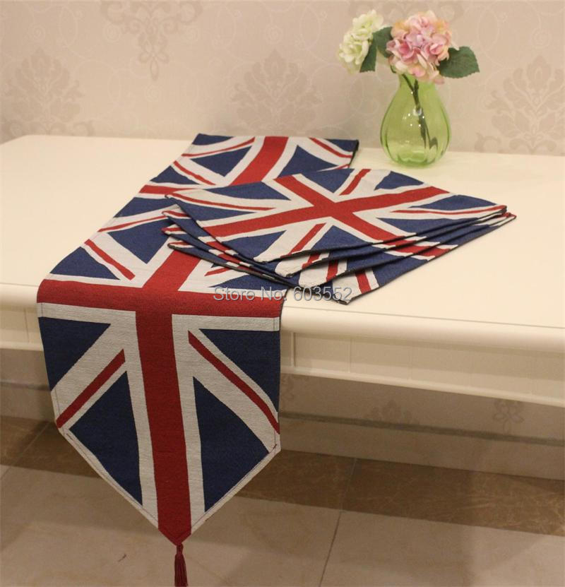 Aliexpress Com Buy Union Jack Table Runner 33 X 180cm Table Runners Wedding Showers Tablerunner Home Decor From Reliable Jack Meaning Suppliers On U Life