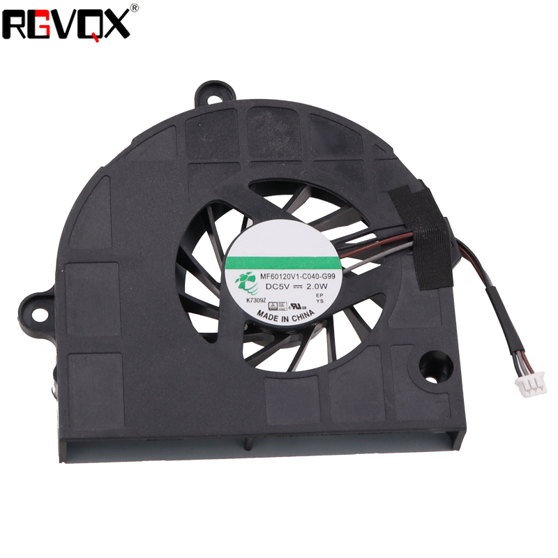 New Laptop Cooling Fan for Gateway NV55 Series P N GC057514VH A MF60120V1 C040 G99 CPU Cooler Radiator in Fans Cooling from Computer Office