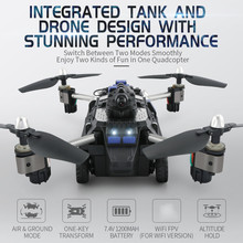 JJR/C JJRC H40WH WIFI FPV With 720P HD Camera Altitude Air Land Mode RC Quadcopter Car Drone Helicopter Toys RTF VS H37 H36 цена