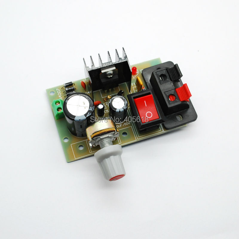 Free Shipping!!! 2pcs LM317 adjustable power supply AC and DC input voltage regulator module board finished board 6es7284 3bd23 0xb0 em 284 3bd23 0xb0 cpu284 3r ac dc rly compatible simatic s7 200 plc module fast shipping
