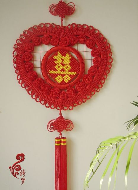 Accessories chinese style chinese knot - 100 45 wall decoration