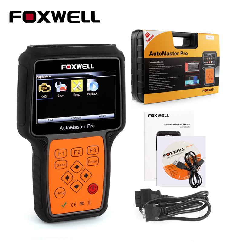 foxwell nt624 pro obd obd2 automotive scanner all systems. Black Bedroom Furniture Sets. Home Design Ideas