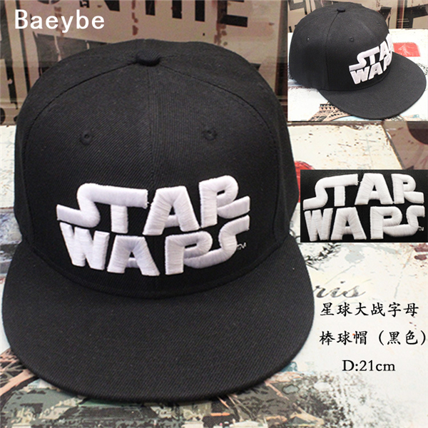 Star wars cotton baseball cap snapback embroidery letter hip hop men women adjustable Rapper Bboy dancer trucker sun cap hat adjustable la baseball cap men women snapback cap hat female male hip hop bone cap black cool fashion gorras letter cotton cap