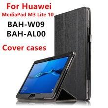 """Funda Para Huawei MediaPad M3 lite 10 BAH-W09 AL00 L09 10.1 """"M3 Edición Juventud Tablet casos de Cuero PU Protector cubiertas Protectoras"""