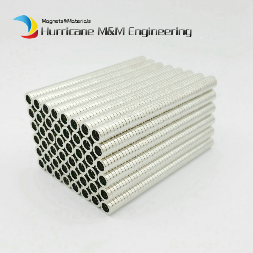 NdFeB Magnet Ring N42 Dia. 10x6.5x2.5 mm Precesion Axially Magnetized Strong Neodymium Permanent Rare Earth Magnet 100-5000pcs цена