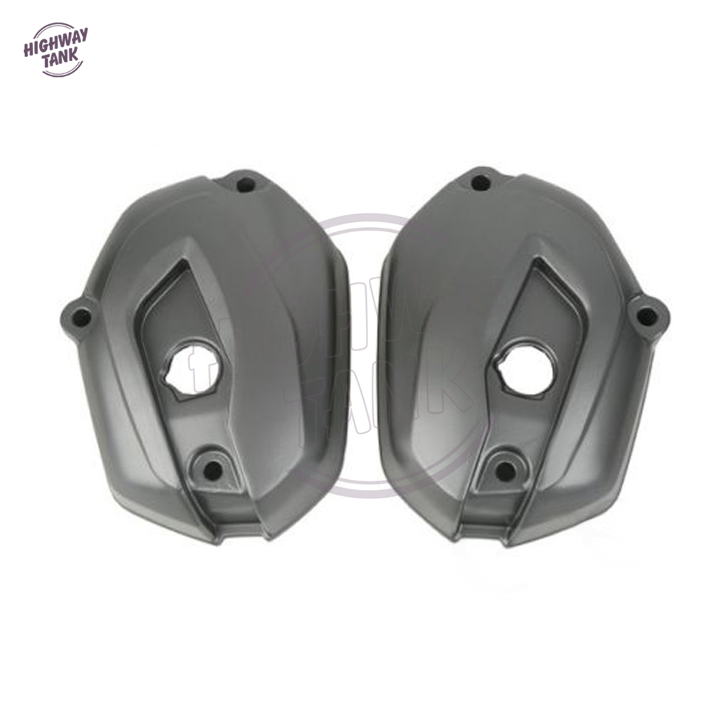 Motorcycle Left & Right Cylinder Head Valve Cover case for BMW R1200GS K50 K51 ADV WC 2013 2014 for bmw r1200gs adv f800gs adv f700gs new motorcycle adjustable handlebar riser bar clamp extend adapter