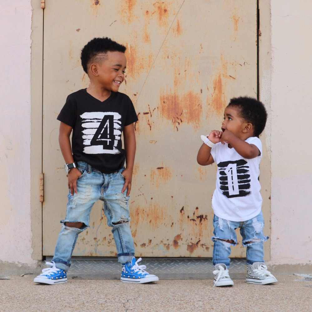 My Baby 1 Year Birthday Boy Clothes Tops Things For Shirt Kids Boys