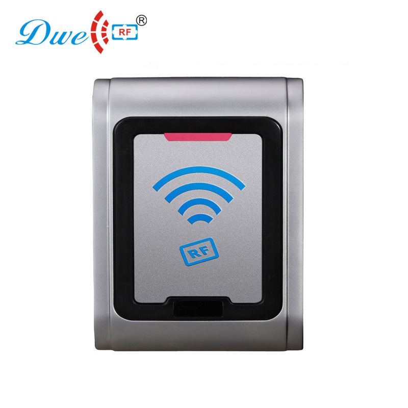125 khz weigand 26 proximity inmobilizer door reader water proof card access system outdoor mf 13 56mhz weigand 26 door access control rfid card reader with two led lights