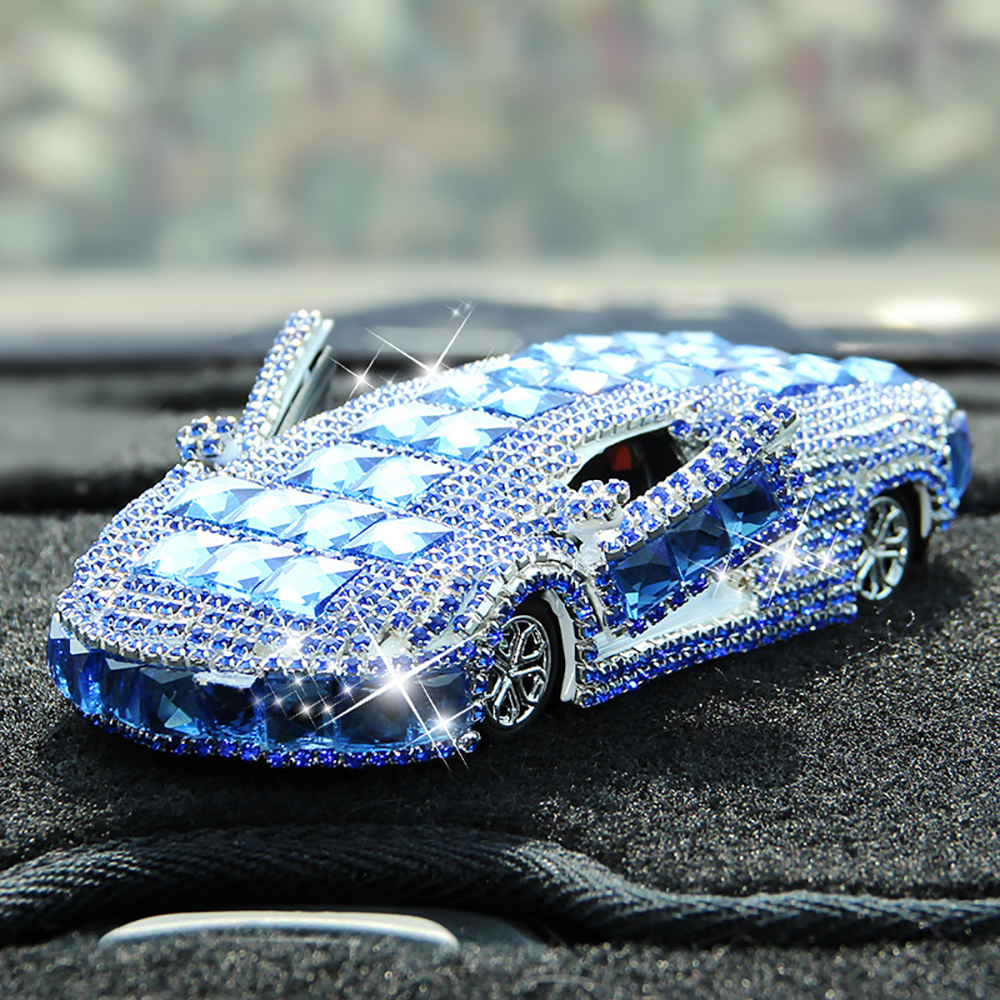 Car Perfume Seat Diamond Crystal Automotive Model Air Freshener Automobile Interior Decoration Fragrance Smell Diffuser Ornament цены