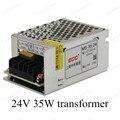 Fuente de alimentación de conmutación de entrada de ca 110 v 220 v de salida DC 24 V 35 W tamaño mini fuente de alimentación para luces led Iluminación Transformers