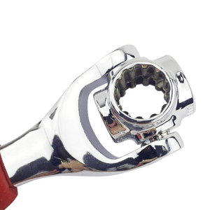 Image 4 - 52 في 1 مفتاح العزم Multitool النمر مفتاح النمر مجموعة مفاتيح للربط العالمي مفتاح متعدد المهام المقبس المفك أداة إصلاح السيارات