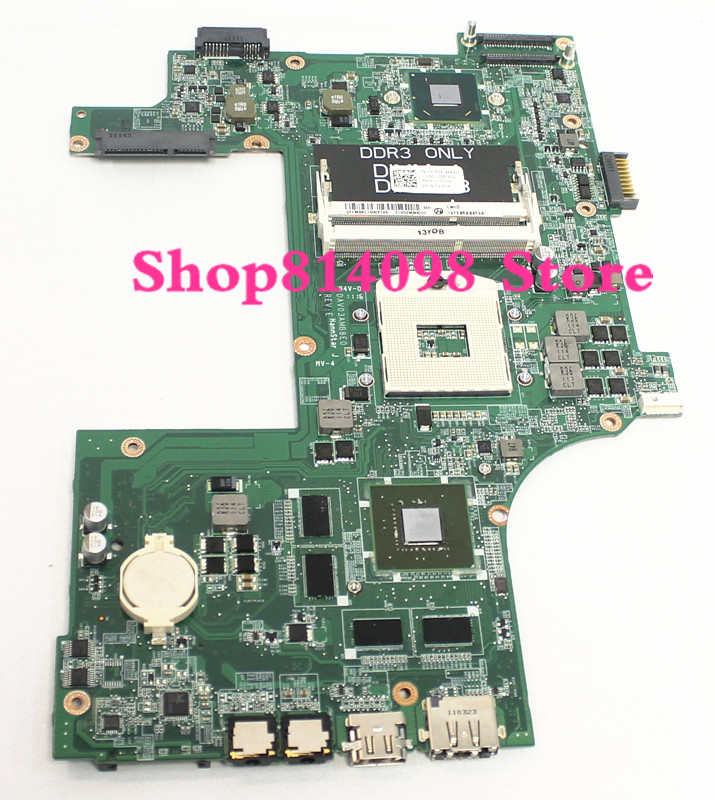 CN-037F3F 037F3F 37F3F DAV03AMB8E1 Laptop Motherboard for Dell inspiron N7110 Notebook PC VIDEO CHIP N12P-GE-A1