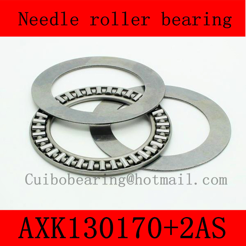130X170X5mm AXK130170+2AS thrust needle roller bearing AXK130170  just for sales volume na4910 heavy duty needle roller bearing entity needle bearing with inner ring 4524910 size 50 72 22