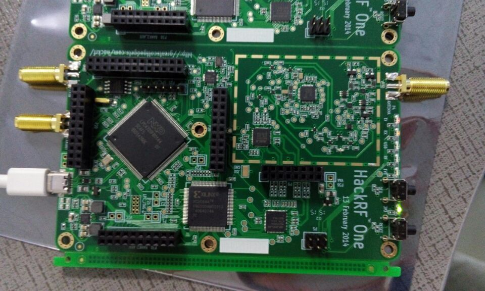 Hackrf one PCB/PCBA hardware part, low cost open source Software ...