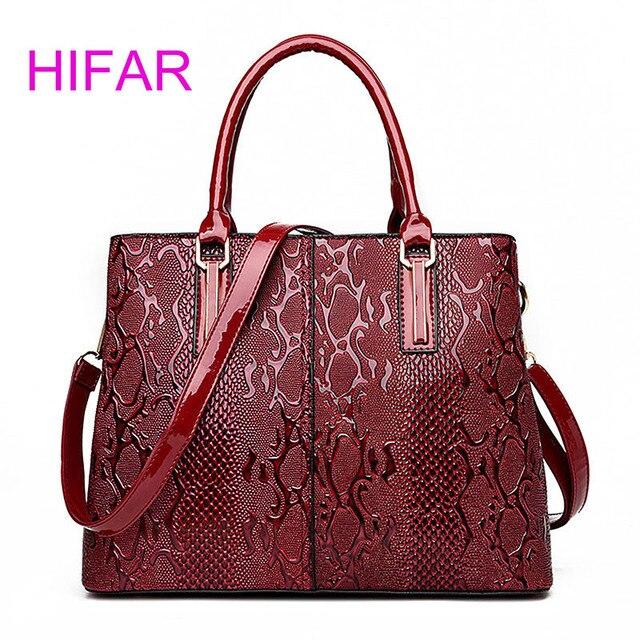 Fashion Serpentine Las Hand Bags 2017 Luxury Handbags Women Designer Capacity Crossbody Bag