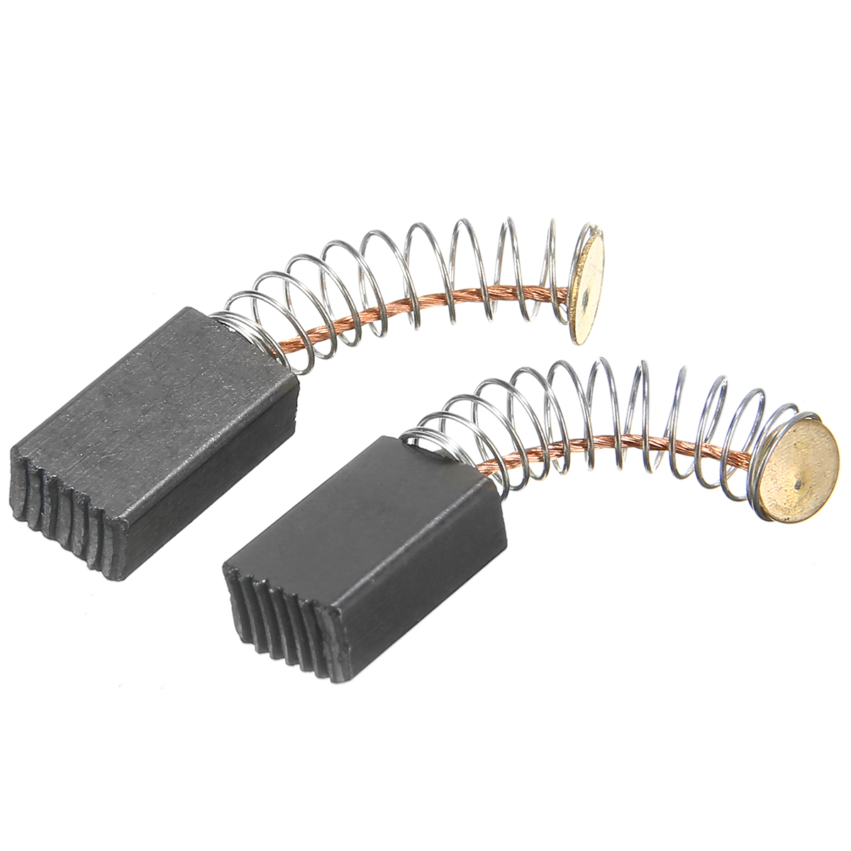 2 Pcs 5mm x 5mm x 13mm Motor Carbon Brushes for Power Tool