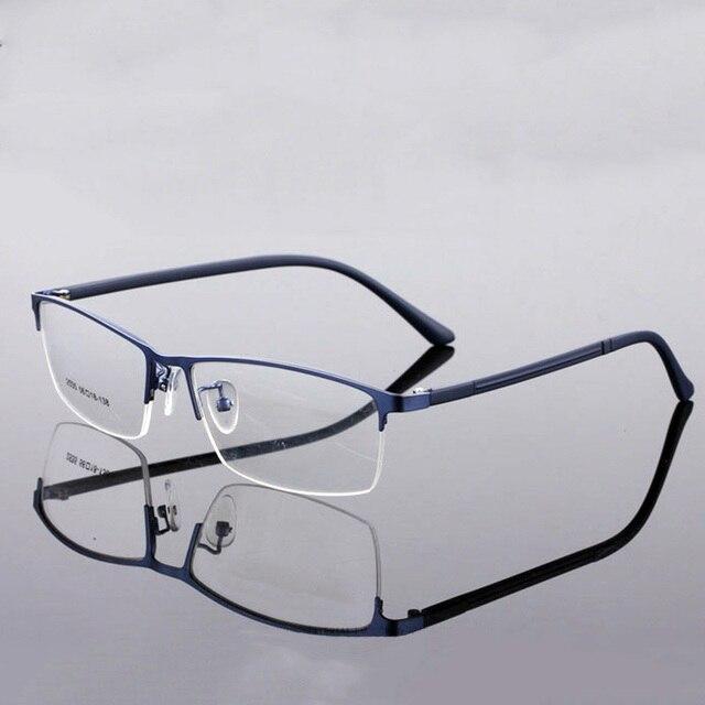 3202efe613 Flexible Optical Glasses Frames Men Fashion Eyewear Frames Prescription TR90  Myopia Glasses Frames Alloy Ultralight Spectacles