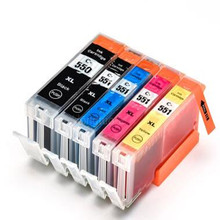 цена на 5PK pgi550 pgi-550 cli-551 ink cartridge for canon PGI550 CLI551 PIXMA IP7250 MG5450 MX925 MG5550 MG6450 MG5650 MG6650 MX725