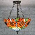 Современный Подсолнух Tiffanylamp анти-люстры для спальни гостиной солнечные светильники для комнаты американский кантри Tianyuan Xuan Guan