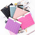 2016 New Women's Money Clips 6 Color And 2 Style Available Female Purse Wallet High Quality PU Leather Girl's Short Wallets