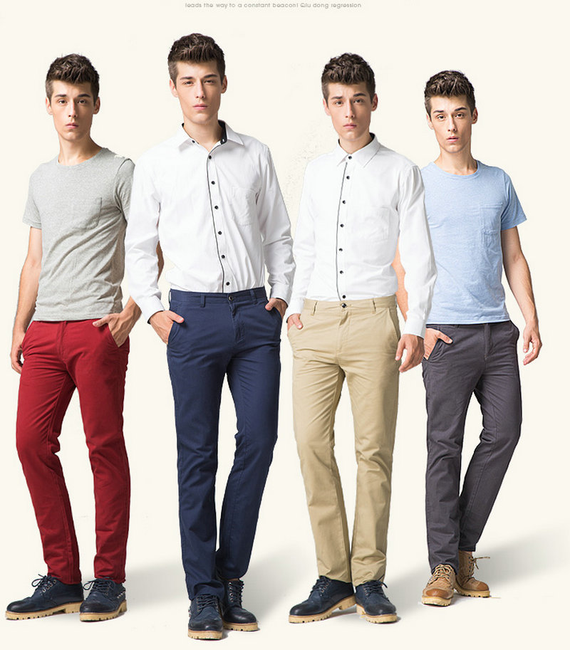 Aliexpress.com : Buy BIG SALE! Men chinos Straight Pants Quality ...
