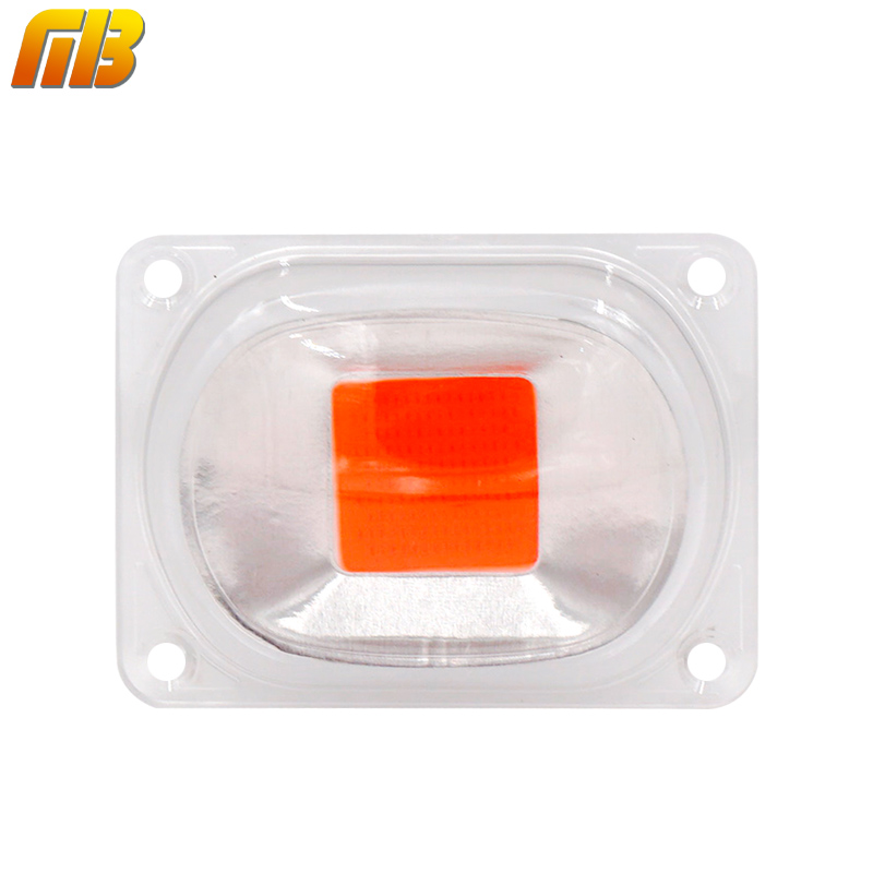 Mingben 1set Led Cob Grow Chip Lens Reflector 50w 30w