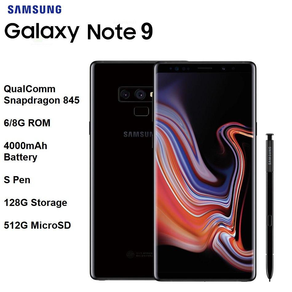 Nouveau Samsung Galaxy Note 9 6.4
